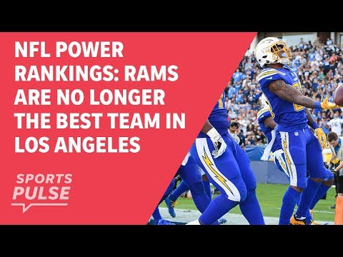 NFL power rankings: Rams are no longer the best team in Los Angeles