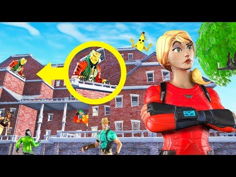 Fortnite HIDE & SEEK In A GIANT MANSION! (Fortnite Creative)