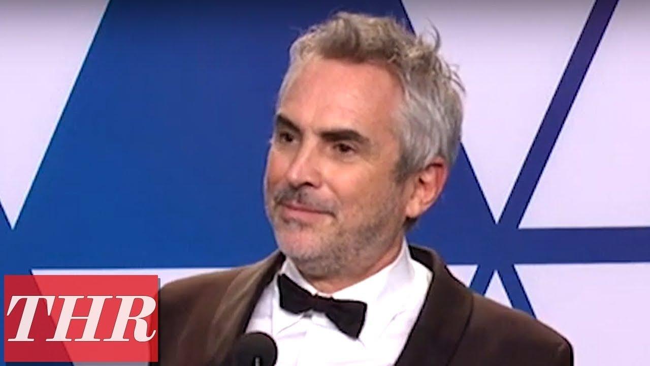 Oscars Winner Alfonso Cuarón Full Press Room Speech   THR