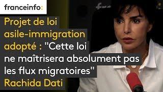 Projet de loi asile-immigration adopté :