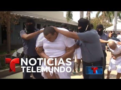 Mano dura en El Salvador para criminales deportados de EEUU   Noticiero   Noticias Telemundo