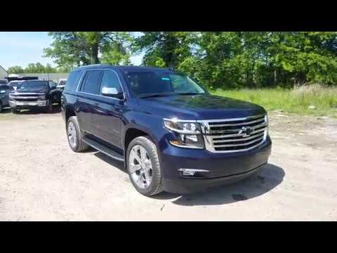 2017 Chevy Tahoe Premier Full Review - Blue Velvet ...