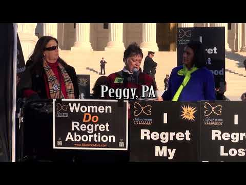 Peggy's 2018 March for Life Testimony