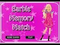 Barbie Memory and Match it Games - Barbie Matching Games - Barbie Memory Games