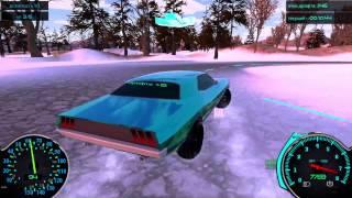 Неадекватный обзор Frozen Drift Race