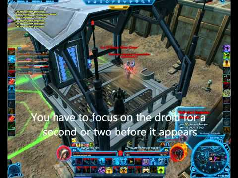 SWTOR - Explosive Conflict - Minefield Tower Puzzle - Colonel Vorgath [The Tantalus]