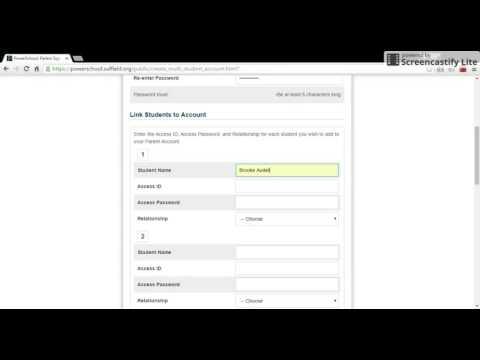 PowerSchool - Activate Parent Portal Account