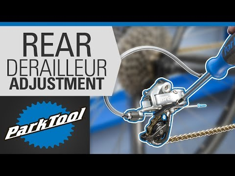 How to Adjust a Rear Derailleur - Limit Screws & Indexing