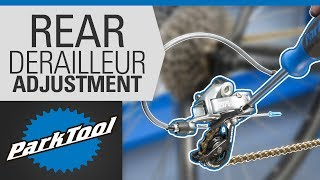 How to Adjust a Rear Derailleur – Limit Screws & Indexing