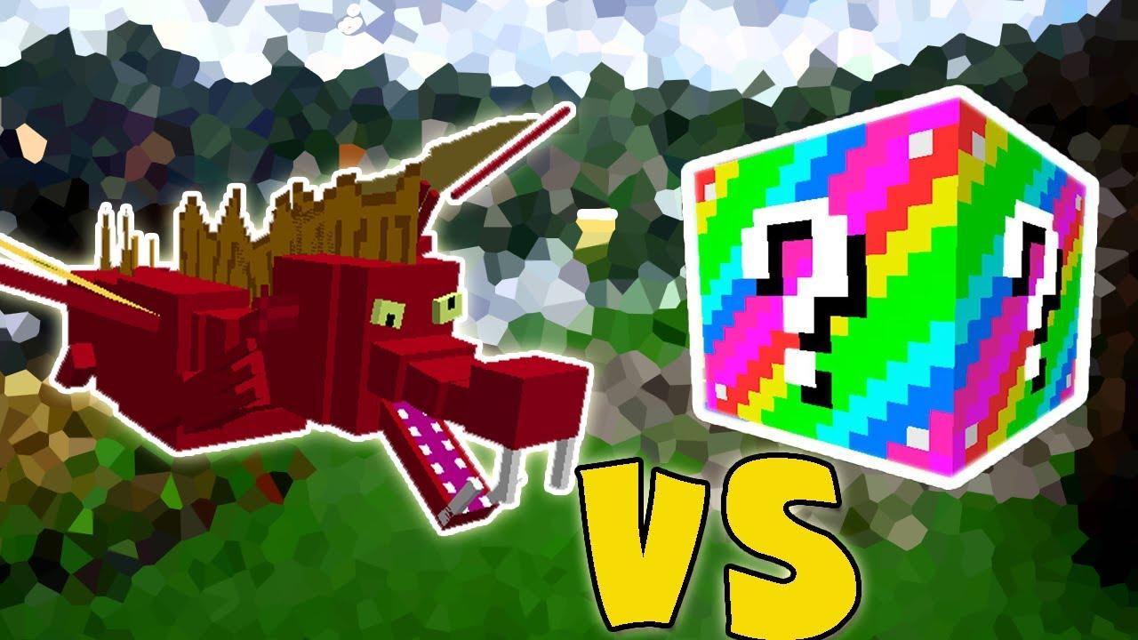 Garble Dragao Voador Vs Lucky Block Extreme Minecraft Lucky