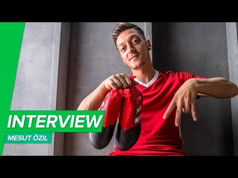 ACE17+ with Mesut Özil - Unisport interview on the PureControl on adidas photoshoot