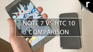 Galaxy Note 7 vs HTC 10