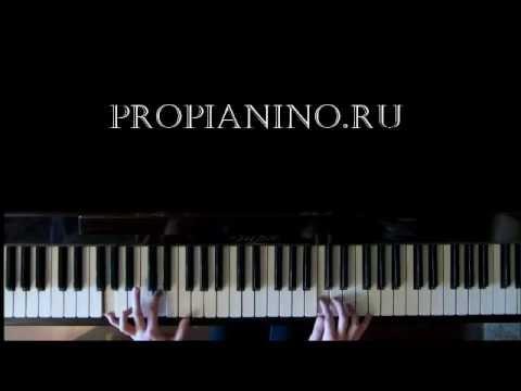 Как играть Хатико на пианино - piano cover