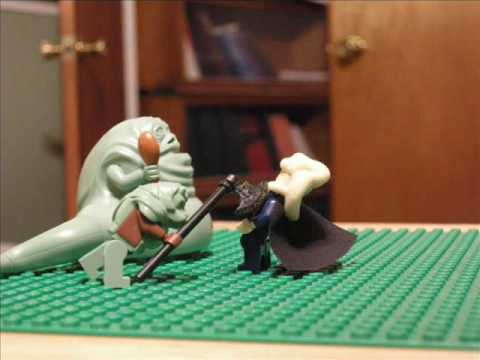 Lego Starwars A Day With Jabba The Hutt - YouTube