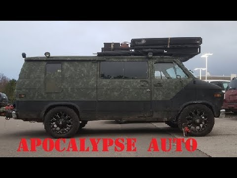 Ultimate Bug Out Van (B.O.V.) Apocalypse Auto Ep.12