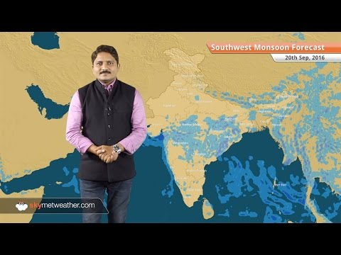 Monsoon 2016 Forecast for Sep 20: Monsoon rains in continuity over Mumbai, dry weather in Delhi