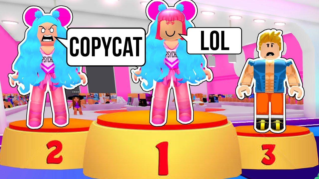 Roblox: YELLED AT FOR COPYING HER OUTFIT IN FASHION FAMOUS!!!