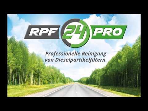 Dieselpartikelfilter Reinigen, gereinigte DPF   RPF24PRO-GmbH