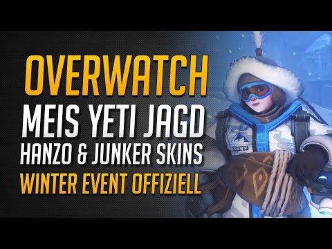 Meis Yeti Jagd Boss Mode | Hanzo & Junker Skins | Winter Wunderland 2017 offiziell ★ Overwatch
