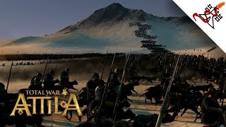 Total War: Attila - 2500 Warhounds vs 2300 Elephants | MASSIVE Battle