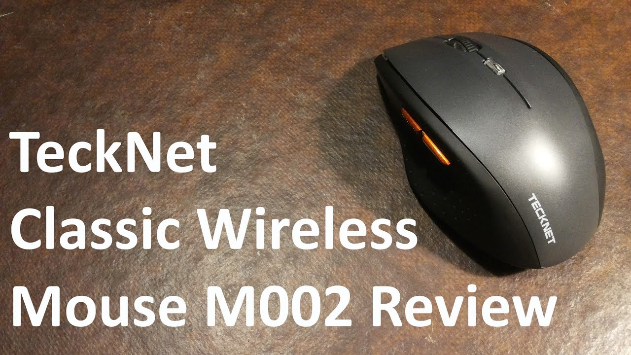 3cb7b72fdb7 TeckNet Classic Wireless Mouse M002 Review - YouTube