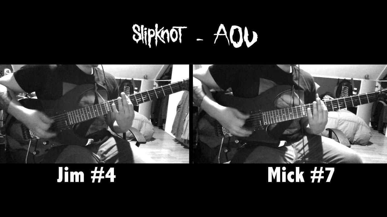 Slipknot Aov Guitar Cover