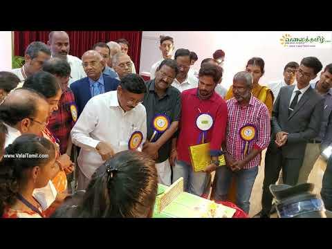 எஸ்.ஆர்.எம். வேந்தர் அவர்களின் பிறந்தநாள் விழா தமிழ் பிறந்தநாள் பாடலுடன்