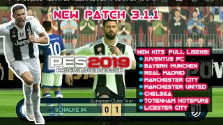 [Live] NEW PATCH 3.1.1 PES 2019 ANDROID