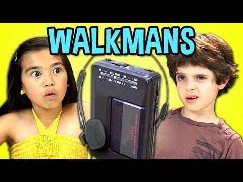 KIDS REACT TO WALKMANS (Portable Cassette Players)
