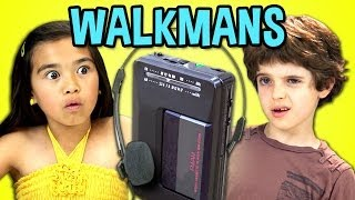 KIDS REACT TO WALKMANS (Portable Cassette Players)(Walkmans BONUS Reactions: http://goo.gl/qSqzcU NEW Videos Every Week! Subscribe: http://goo.gl/nxzGJv Watch all main React episodes ..., 2014-04-13T19:00:20.000Z)