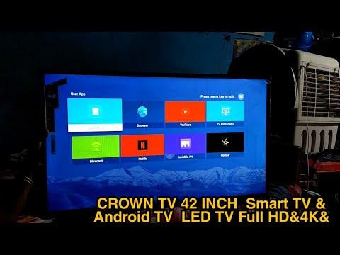 Download CROWN TV 42 INCH  Smart TV & Android TV  LED TV Full HD&4K&WiFi& MRS-20000-23000 ! Smart TV LED TV
