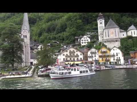 Hallstatt (UNESCO) - Sights around Lake Hallstättersee in 4K, Austria