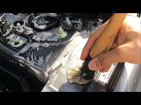Honda Accord Engine Bay Cleaning