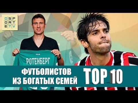 ТОП-10 футболистов из богатых семей