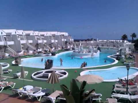 View From Plaza Verde Sands Beach Resort Lanzarote
