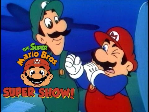 Super Mario Brothers Super Show 110 - TWO PLUMBERS AND A BABY