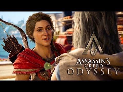 Assassin's Creed Odyssey прохождение (Следуй за кораблем - Гавань беззакония) Часть 23