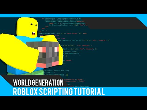 Roblox: World Generation Tutorial - Roblox Scripting Tutorial