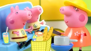 Peppa Pig Full Episodes | Peppa Pig Stop Motion: Peppa Pig's Surprise Holiday