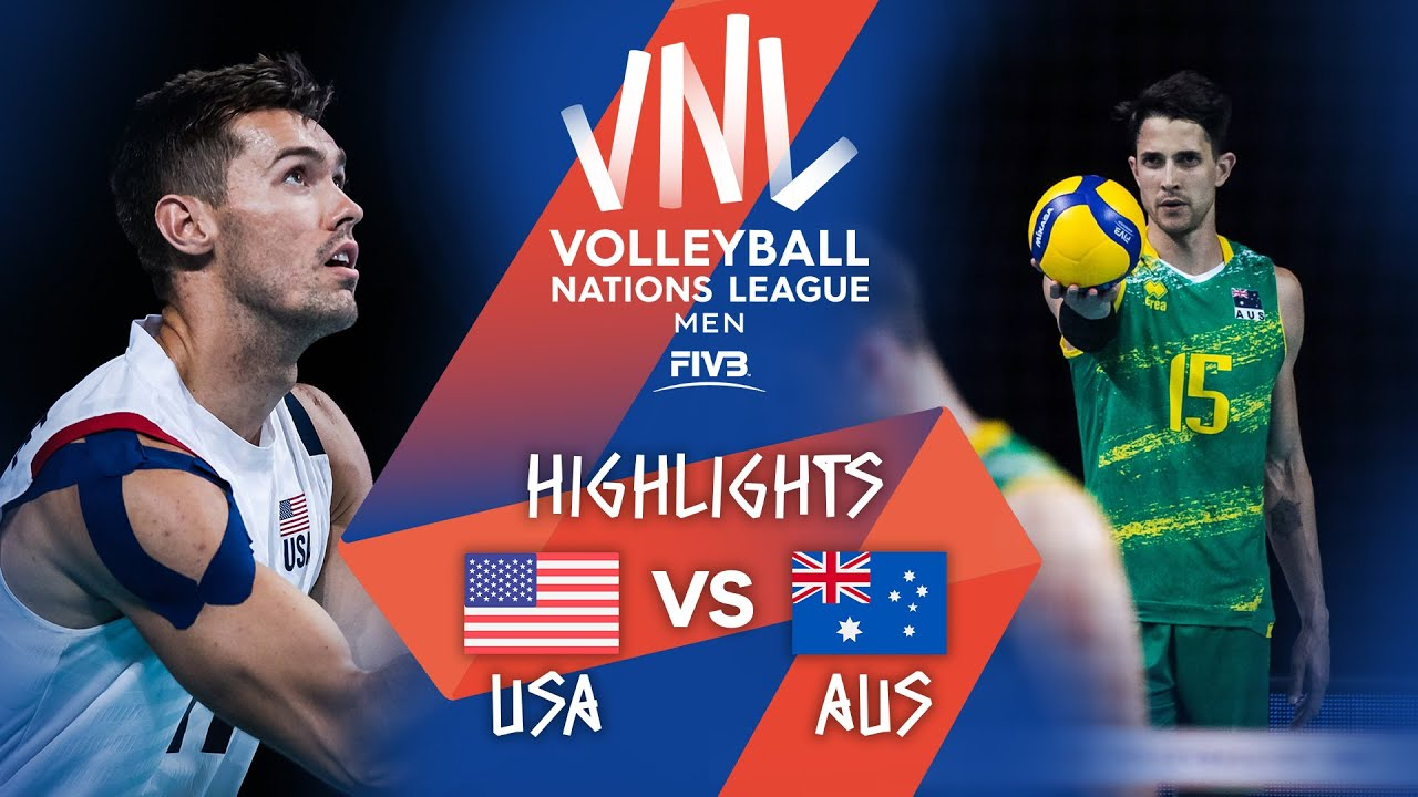 Download USA vs. AUS - Highlights Week 2   Men's VNL 2021