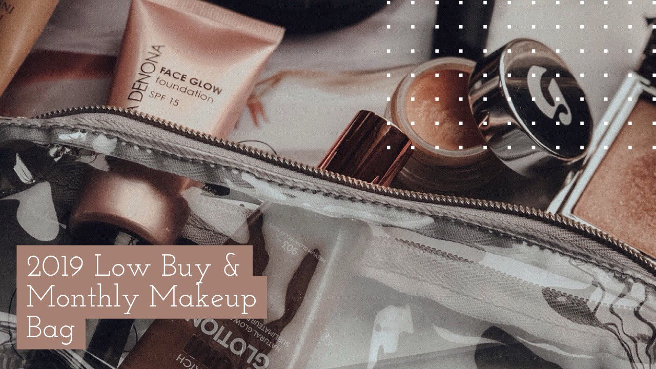 Low Year 1st Monthly Makeup Bag