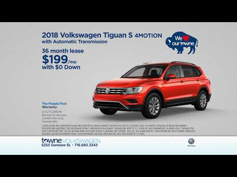 Lease A 2018 VW Tiguan And Save BIG At Towne