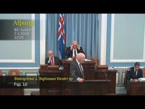 Steingrímur J. og Bjarni Ben