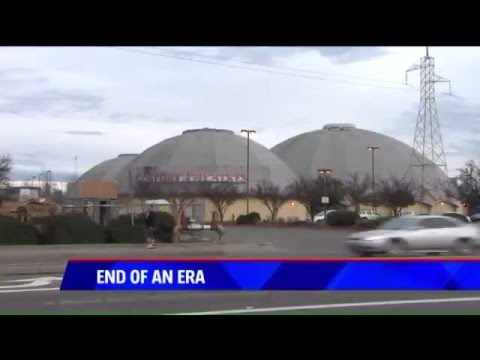 Sacramento Century Theatre closing coverage on KTXL 1/18/16