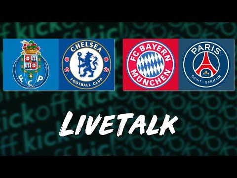🔴 LIVE: Champions League Konferenz mit Bayern München vs. Paris SG & Porto vs. Chelsea