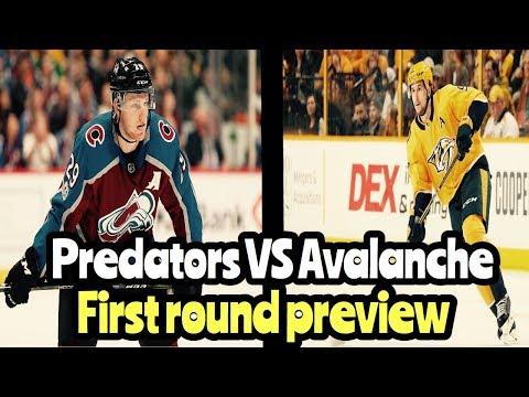 NHL Playoff Preview Nashville Predators VS Colorado Avalanche