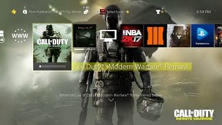 How to Download the Call of Duty: Modern Warfare Remastered Campaign Now on PS4 a Month Early!