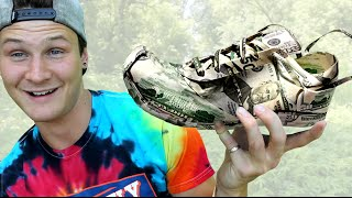 HOMELESS KID UNBOXES EXPENSIVE NEW SNEAKER RELEASE
