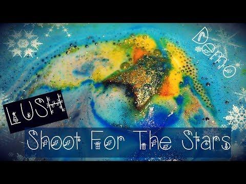 LUSH Shoot for the stars fürdőbomba demó! MatsuKei XMAS Special  #2