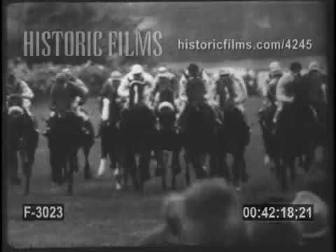 EPSOM DOWNS - THE ENGLISH DERBY - 1950